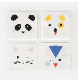 My Little Day Mini Animal Napkins