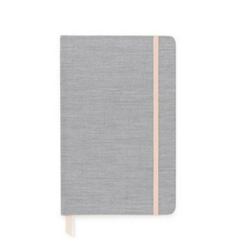 Sugar Paper Essential Journal, Black Pencil Stripe