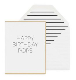 Sugar Paper Happy Bday Pops