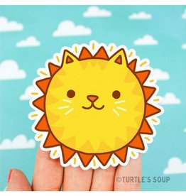 Turtle's soup Sunshine Cat Sticker