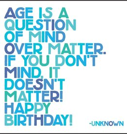 Quotable Age is a Question
