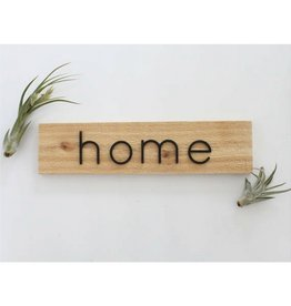 Savvie Studio Home Cedar Sign