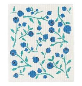 Now Designs Blueberries Swedish Dishcloth