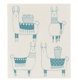 Now Designs Llamarama Swedish Dishcloth