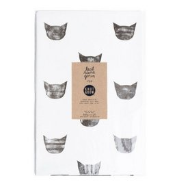 Knot and Bow Black Cats Wrap
