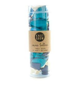 Knot and Bow Mini Balloons, Blue
