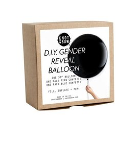 Knot and Bow Gender Reveal Balloons