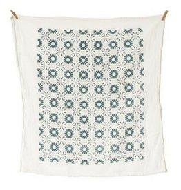 June & December Slate Chicory Towel