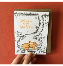 Frog and Toad New Digs Card