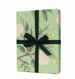 Rifle Paper Emerald Peony Wrap, Roll