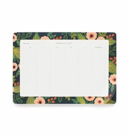 Rifle Paper Jardin Weekly Desk Pad
