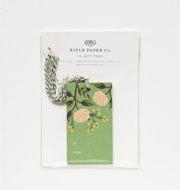 Rifle Paper Emerald Peony Gift Tags, Pk of 10