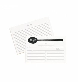 Rifle Paper Charcoal Spoon Recipe Cards