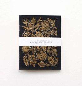 Rifle Paper Gold Foil Pocket Notebooks