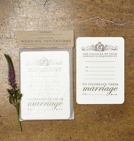 Katie Leamon Royal Wedding Invitations