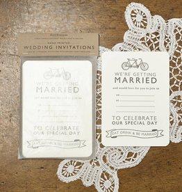 Katie Leamon Tandem Wedding Invitations
