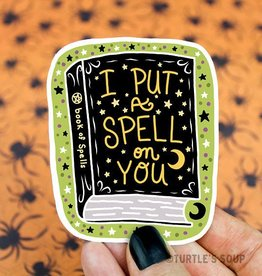 Turtle's soup Spellbook Witch Sticker