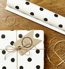 Katie Leamon Painted Polka Dot Wrap
