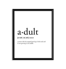 Footnotes Studio Art Print - Adult