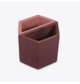 Wit & Delight Concrete Holder/Pink