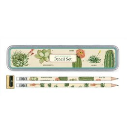 Cavallini Papers Succulent Pencil Set