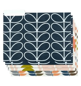 Orla Kiely Flower File Folders