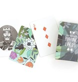 1Canoe2 Floral Playing Cards