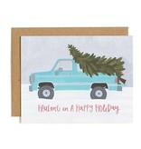 1Canoe2 Hauling Truck Holiday