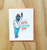 Bench Pressed Birthday Man