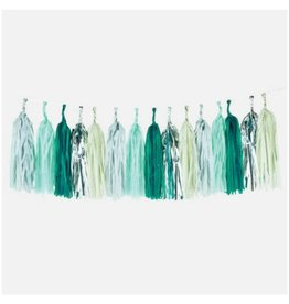 My Little Day Green Tassel Garland
