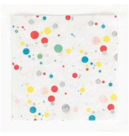 My Little Day Multicolor Bubbles Napkins