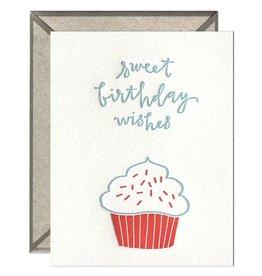 Ink Meets Paper Birthday Cupcake Card