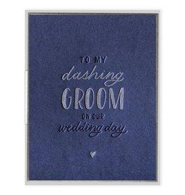 Ink Meets Paper Dashing Groom Card
