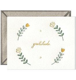 Ink Meets Paper Floral Gratitude Card