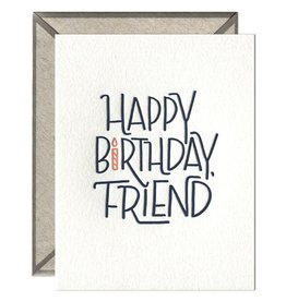 Ink Meets Paper Happy Bday Friend Card