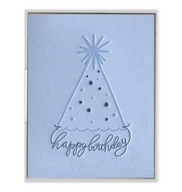 Ink Meets Paper Party Hat Bday Card