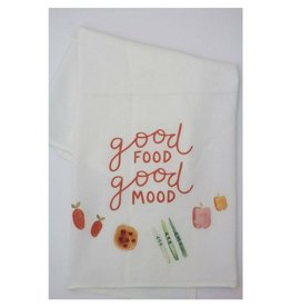 Doe A Deer Good Food Good Mood Towel