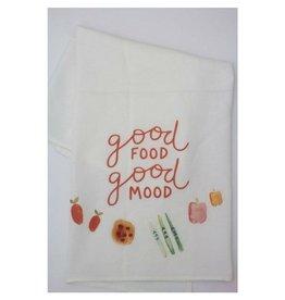 Doe A Deer Good Food Good Mood Towel