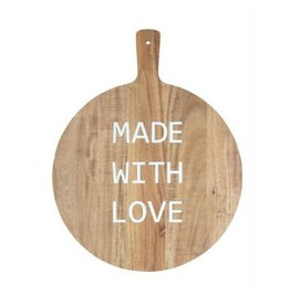 Bloomingville Made With Love Cutting Board