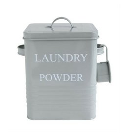 Bloomingville Laundry Powder Metal Container