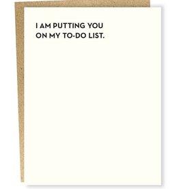 Sapling Press To-do List