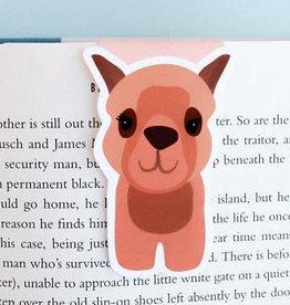 Crafted Van Brown Alpaca Jumbo Magnetic Bookmark