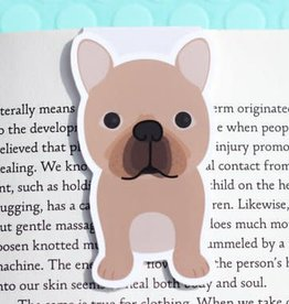 Crafted Van French Bulldog Magnetic Bookmark