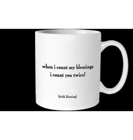 Quotable Count My Blessings Mug