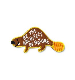 Forest and Waves Beaver Patch