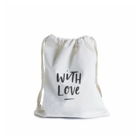 In The Daylight With Love Canvas Gift Bag