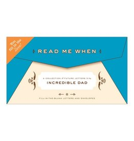 Knock Knock Read Me When: Dad