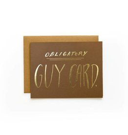 Wild Ink Press Guy Card