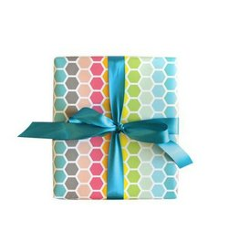 Wild Ink Press Happy Hex Gift Wrap