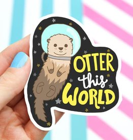 Turtle's soup Otter This World Sticker